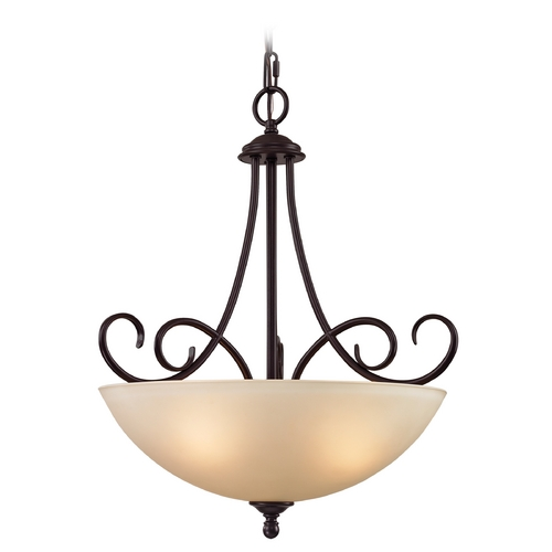 Cornerstone Lighting Cornerstone Lighting Chatham Oil Rubbed Bronze Pendant Light 1103PL/10