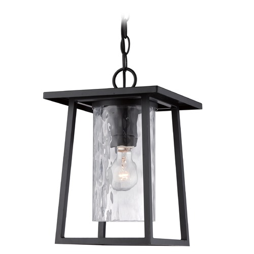 Quoizel Lighting Quoizel Lodge Mystic Black Outdoor Hanging Light LDG1909KFL
