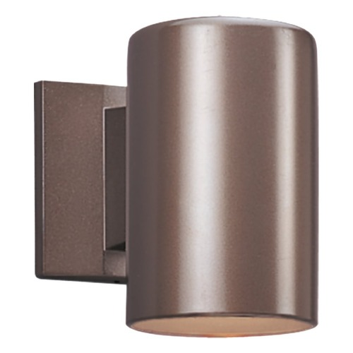 Sea Gull Lighting Sea Gull Lighting Outdoor Bullets Bronze LED Outdoor Wall Light 8313991S-10