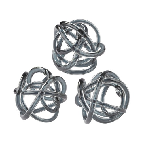 Dimond Lighting Grey Glass Knot 154-019/S3