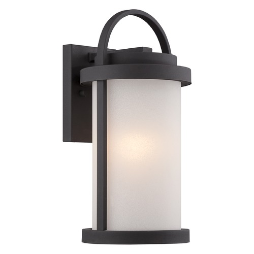 Nuvo Lighting Nuvo Lighting Willis Textured Black LED Outdoor Wall Light 62/651