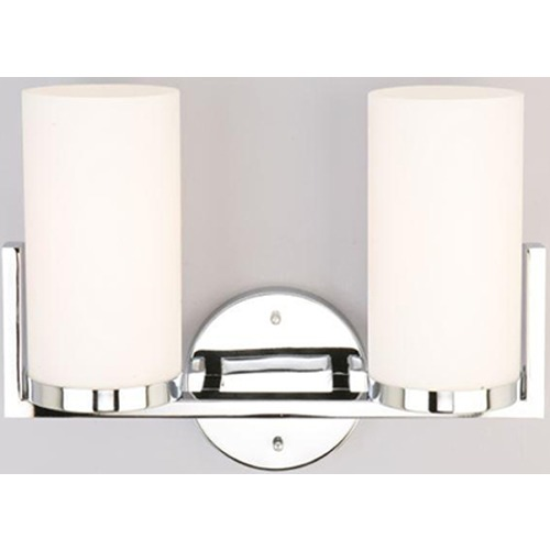 Lite Source Lighting Lite Source Caesarea Chrome Bathroom Light LS-16812