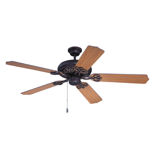 Craftmade Lighting Craftmade Lighting Cecilia Aged Bronze Textured Ceiling Fan Without Light K11210