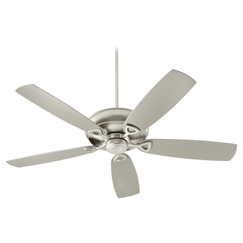 Quorum Lighting Quorum Lighting Alto Patio Satin Nickel Ceiling Fan Without Light 140625-65