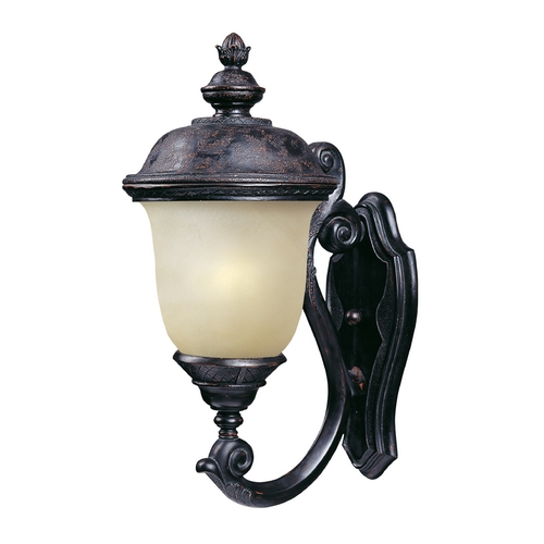 Maxim Lighting Maxim Lighting Carriage House Ee Oriental Bronze Outdoor Wall Light 86523MOOB