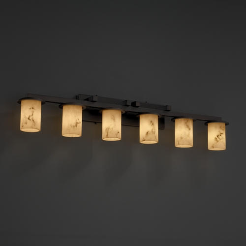 Justice Design Group Justice Design Group Lumenaria Collection Bathroom Light FAL-8786-10-DBRZ