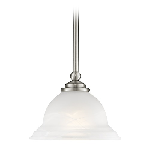 Livex Lighting Livex Lighting North Port Brushed Nickel Mini-Pendant Light 4256-91
