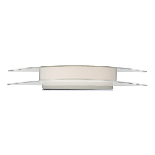 Modern Forms by WAC Lighting Arc Chrome LED Bathroom Light - Vertical or Horizontal Mounting WS-3326-CH