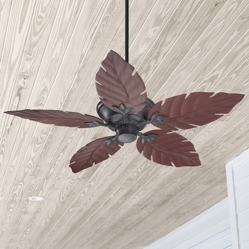 Quorum Lighting Quorum Lighting Monaco Toasted Sienna Ceiling Fan Without Light 135525-44