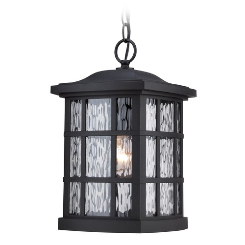 Quoizel Lighting Quoizel Stonington Mystic Black Outdoor Hanging Light SNN1909KFL