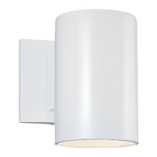 Sea Gull Lighting Sea Gull Lighting Outdoor Bullets White LED Outdoor Wall Light 8313991S-15