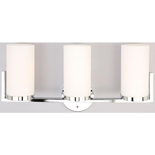 Lite Source Lighting Lite Source Caesarea Chrome Bathroom Light LS-16813