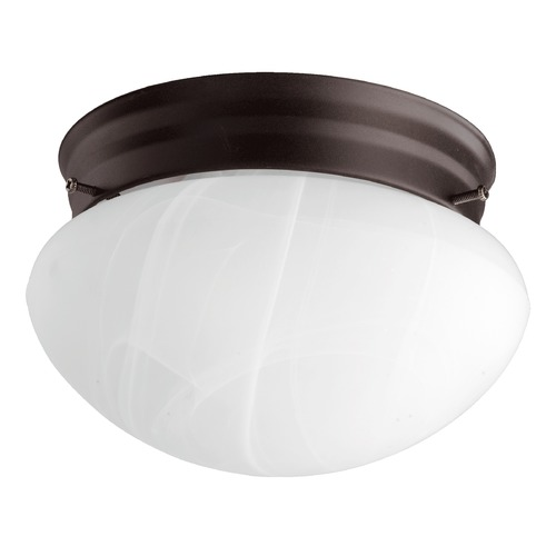 Quorum Lighting Quorum Lighting Oiled Bronze Flushmount Light 3021-6-86