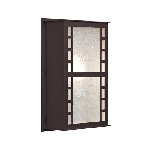 Besa Lighting Besa Lighting Napoli Bronze Outdoor Wall Light NAPOLI11-GL-BR