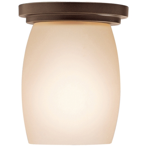 Kichler Lighting Kichler Modern Flushmount Light in Bronze Finish 8043OZ