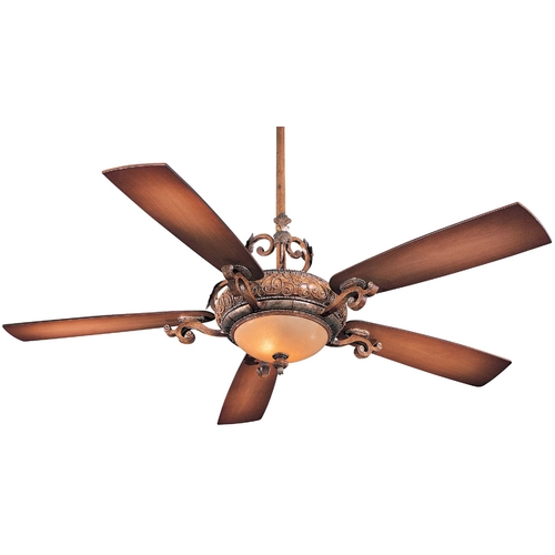 Minka Aire Ceiling Fan with Five Blades and Light Kit F715-TSP