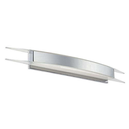 Modern Forms by WAC Lighting Arc Chrome LED Bathroom Light - Vertical or Horizontal Mounting WS-3338-CH