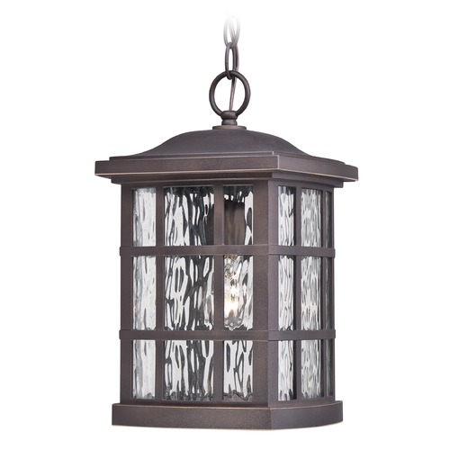 Quoizel Lighting Quoizel Stonington Palladian Bronze Outdoor Hanging Light SNN1909PNFL