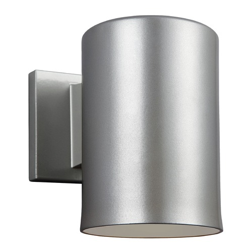 Sea Gull Lighting Sea Gull Lighting Outdoor Bullets Painted Brushed Nickel LED Outdoor Wall Light 8313991S-753