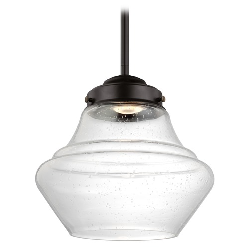 Feiss Lighting Feiss Lighting Alcott Oil Rubbed Bronze LED Mini-Pendant Light P1405ORB-LED