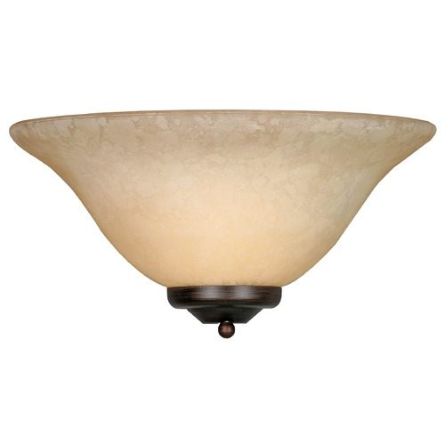 Golden Lighting Golden Lighting Rubbed Bronze Sconce 8355 RBZ