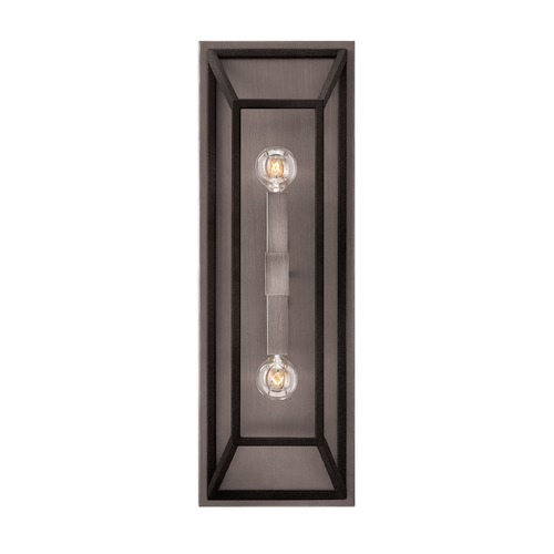 Hinkley Lighting Hinkley Lighting Fulton Aged Zinc Sconce 3330DZ