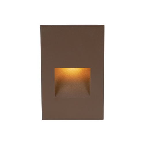 WAC Lighting LED 12V LEDme Vertical Step and Wall Light 4021-AMBZ
