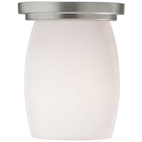 Kichler Lighting Kichler Modern Flushmount Light in Brushed Nickel Finish 8043NI