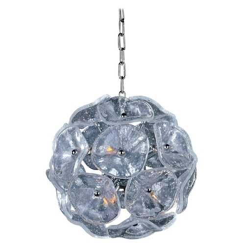 ET2 Lighting Modern Pendant Light in Polished Chrome Finish E22090-28