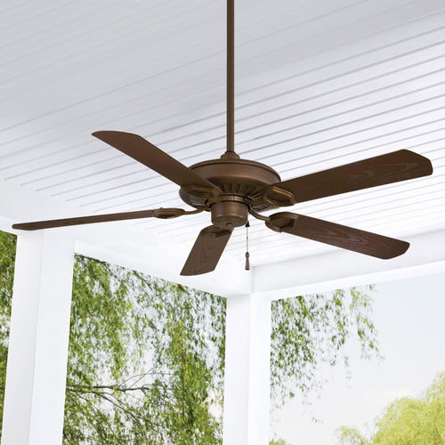 Minka Aire 54-Inch Ceiling Fan Without Light in Oil Rubbed Bronze Finish F589-ORB