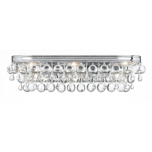 Crystorama Lighting Crystorama Lighting Calypso Polished Chrome Bathroom Light 133-CH