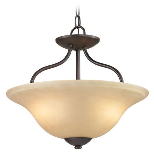 Cornerstone Lighting Cornerstone Lighting Conway Oil Rubbed Bronze Pendant Light 1202CS/10