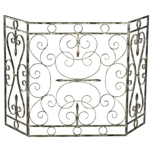 Cyan Design Cyan Design Crawford Distressed Antique White Room Divider 04094