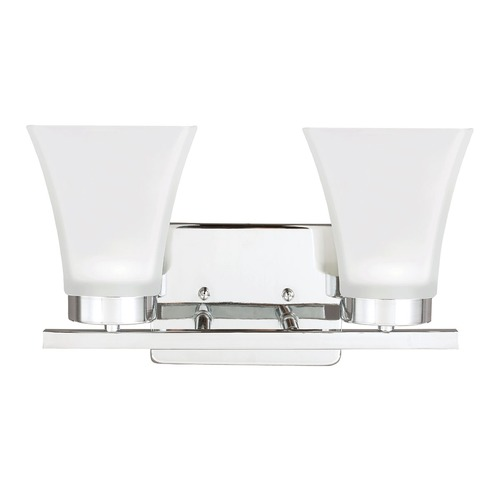 Sea Gull Lighting Sea Gull Lighting Bayfield Chrome Bathroom Light 4411602BLE-05