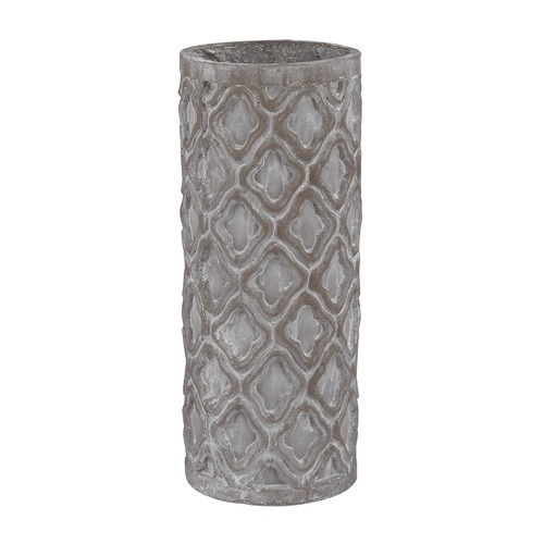 Dimond Home Short Antique Gray Vase With Organic Pattern 156-003