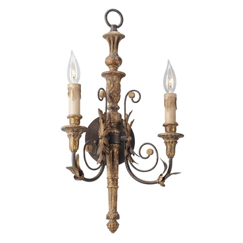 Troy Lighting Troy Lighting Luxembourg Provence Bronze Sconce B4532