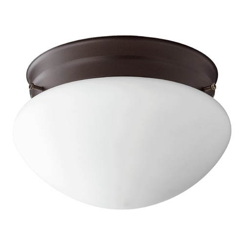 Quorum Lighting Quorum Lighting Oiled Bronze Flushmount Light 3023-6-86