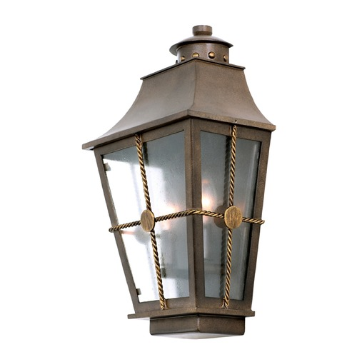 Kalco Lighting Kalco Belle Grove Aged Bronze Outdoor Wall Light 403520AGB