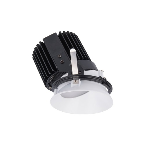 WAC Lighting WAC Lighting Volta Black White LED Recessed Trim R4RWT-A830-BKWT