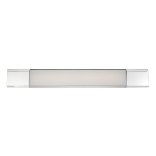 Modern Forms by WAC Lighting Cloud Chrome LED Bathroom Light - Vertical or Horizontal Mounting WS-3436-CH