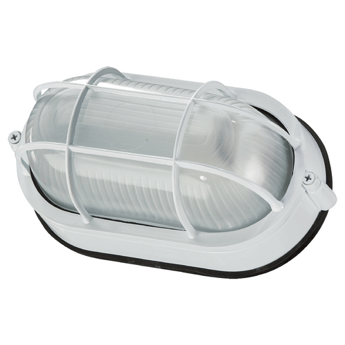 Quorum Lighting Quorum Lighting White Outdoor Wall Light 680-9-6