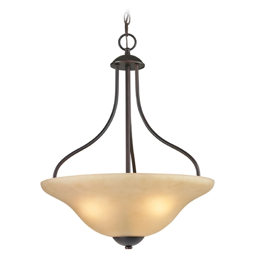Thomas Lighting Thomas Lighting Conway Oil Rubbed Bronze Pendant Light 1203PL/10