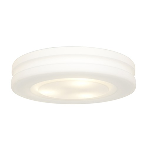 Access Lighting Access Lighting Altum White LED Flushmount Light 50189LEDD-WH/OPL