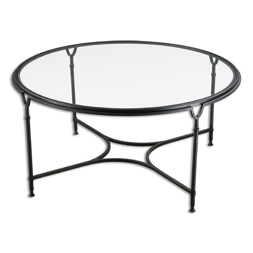 Uttermost Lighting Uttermost Samson Glass Coffee Table 24468