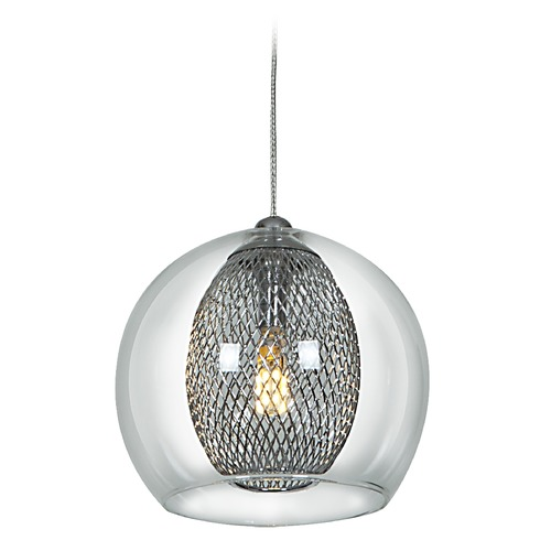 Access Lighting Access Lighting Aeria Mini-Pendant Light 52078-CH/CLR