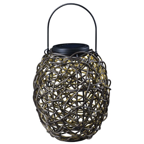 Kenroy Home Lighting Kenroy Home Lighting Seriously Solar Black LED Solar Light 60533RAT