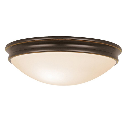 Access Lighting Access Lighting Atom Oil Rubbed Bronze Flushmount Light C20724ORBOPLEN1213BS