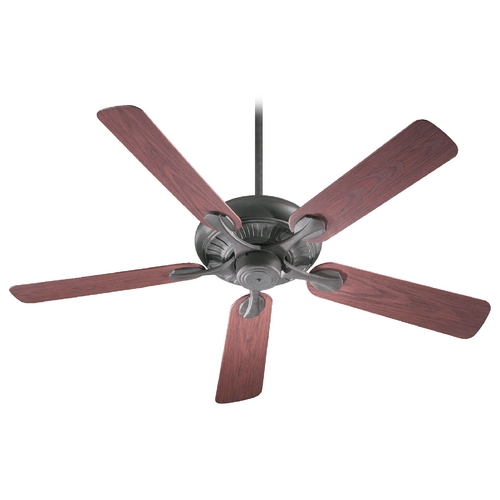 Quorum Lighting Quorum Lighting Pinnacle Patio Toasted Sienna Ceiling Fan Without Light 191525-44