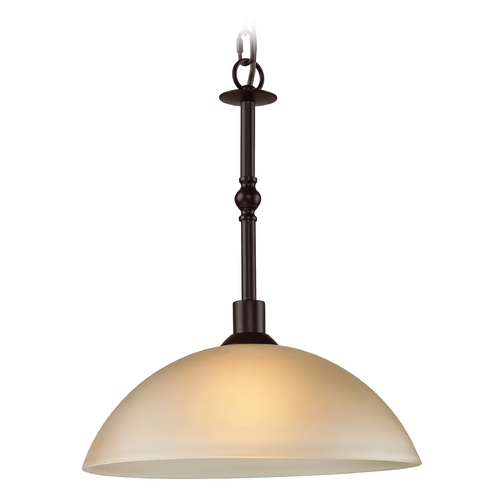Cornerstone Lighting Cornerstone Lighting Jackson Oil Rubbed Bronze Pendant Light 1301PL/10