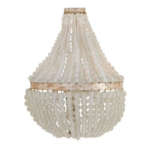 Currey and Company Lighting Currey and Company Chanson Silver Granello Sconce 5224